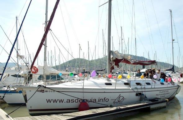 despedida AS de GUIA Alquiler de barcos