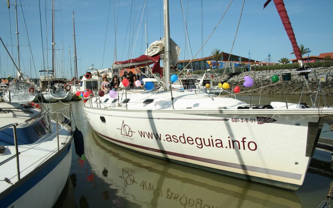 Despedida de soltero o soltera en Bilbao y Getxo (Vizcaya) en barco velero