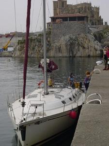 Practicas de Seguridad y Navegacion y Vela Prácticas de mar y navegación